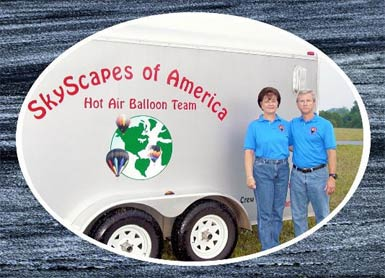 SkyScapes Hot Air Balloon Team